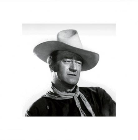 John Wayne Close Up - John Wayne