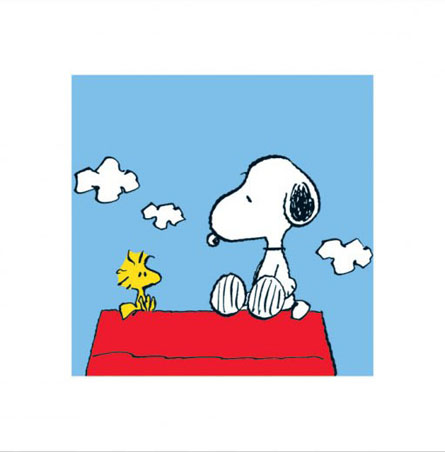 Snoopy and Woodstock - Charles Schultz's Peanuts