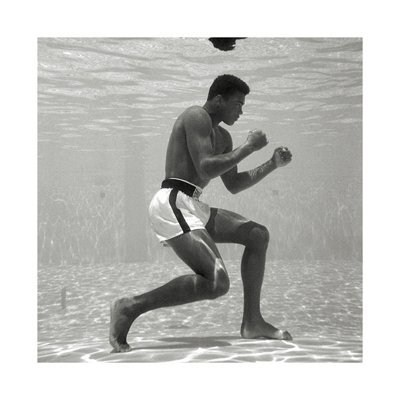 Underwater Training - Muhammad Ali