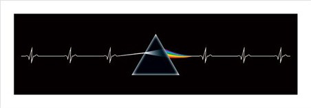 Dark side of the moon pink floyd popartuk for Dark side of the moon mural