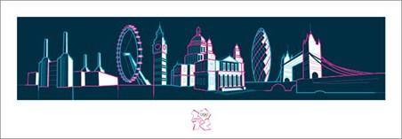 The London Skyline - London Olympics 2012