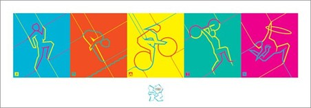 Dynamic Pictograms - London Olympics 2012