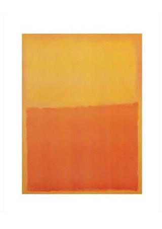 Orange & Yellow, 1956 - Mark Rothko