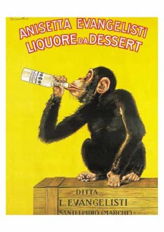 Liquor for Dessert - Anisetta Evangelisti