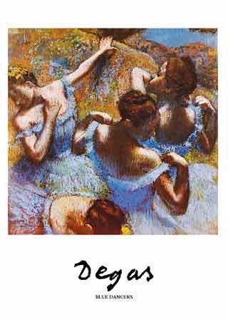 Blue Dancer - Edgar Degas
