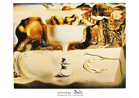 Apparition of a Face and Fruitdish, 1938 - Salvador Dali