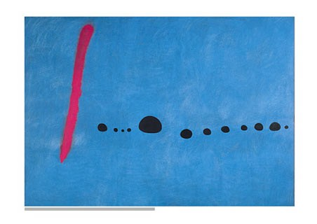 Blue II - Joan Miro