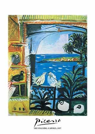 The Pigeons, Cannes, 1957 - Pablo Picasso
