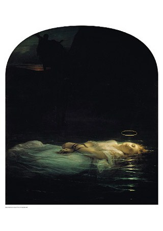The Young Martyr, 1855 - Paul Delaroche
