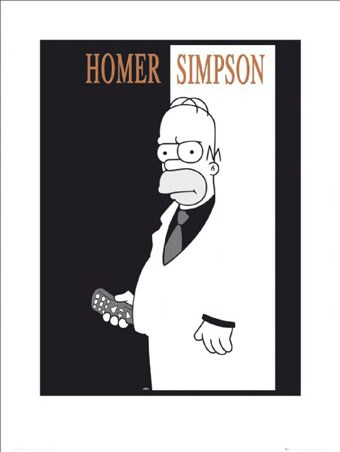 Homer – Scarface Spoof - The Simpsons