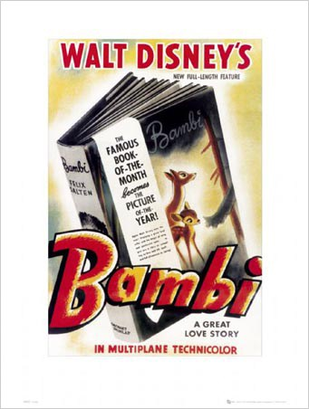 Bambi Original Movie Score - Walt Disney's Bambi