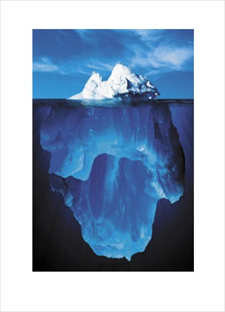 Natural Wonder - The Tip Of The Iceberg