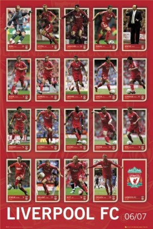Liverpool Football Squad 2006/07 - You'll Never Walk Alone