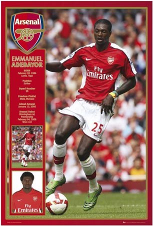 Emmanuel Adebayor - Arsenal Striker