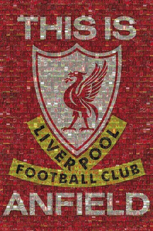 This Is Anfield - Liverpool FC Photomosaic