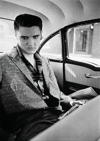 Elvis in the Car - Elvis Presley