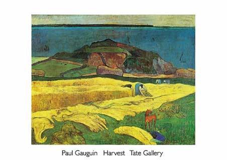 The Harvest  - Eugène Henri Paul Gauguin