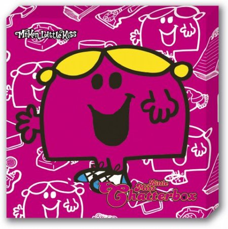 Little Miss Chatterbox - Mr Men And Little Miss