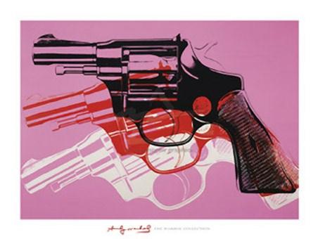 Gun, 1981-82 - By Andy Warhol