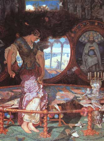 The Lady of Shalott - William Holman Hunt