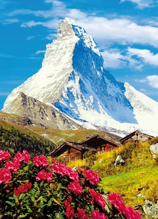 Matterhorn - Photography 4 Sheet Wall Mural