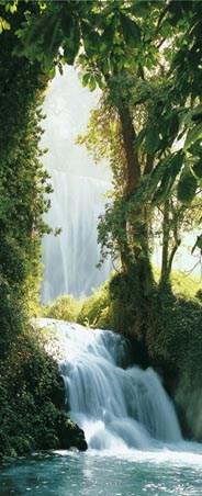 Zaragoza Falls, Waterfall in the Pyrenees - 1 Sheet Door Mural