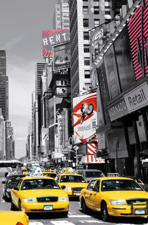 Yellow City Cabs - Times Square