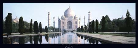 Taj Mahal, India - Bronsteen