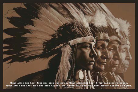 Stages of Life - Cree Indian Prophecy