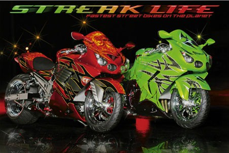 Fastest Street Bikes on the Planet - Streak Life
