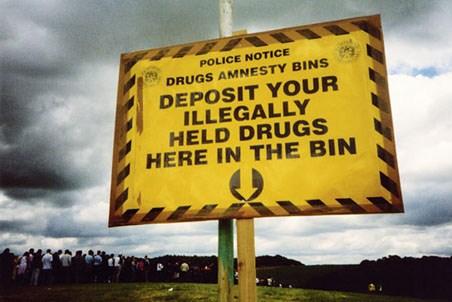 Deposit Drugs Here - Police Drug Amnestry