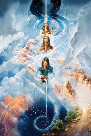 Framed Navajo Creation Myth - John Stephens