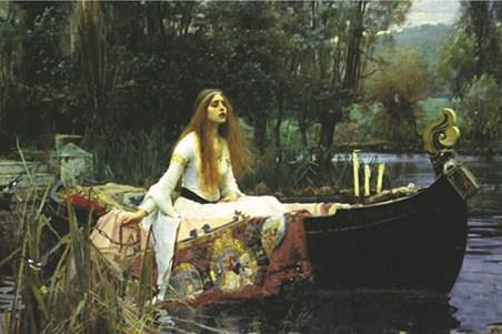 Lady of Shalott - John William Waterhouse