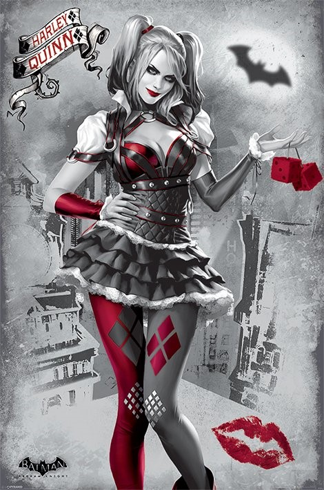 Harley Quinn Maxi Poster 61cm x 91.5cm new and sealed Suicide Squad