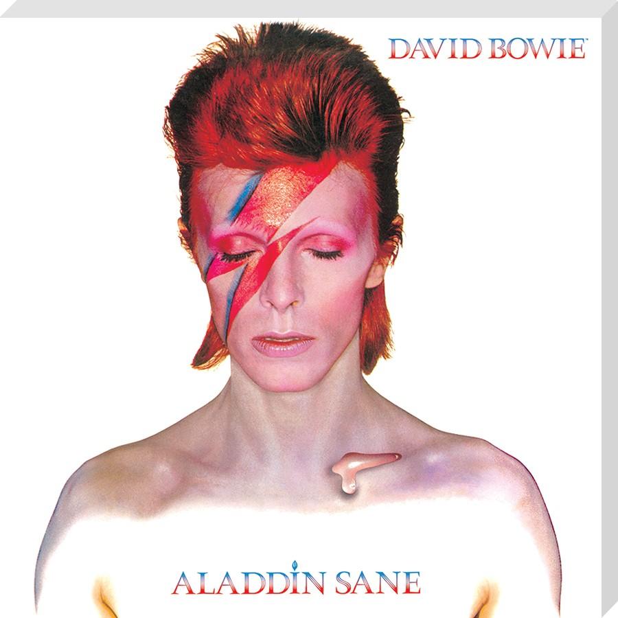 Aladdin Sane Classic Album Cover, David Bowie Canvas - Buy Online
