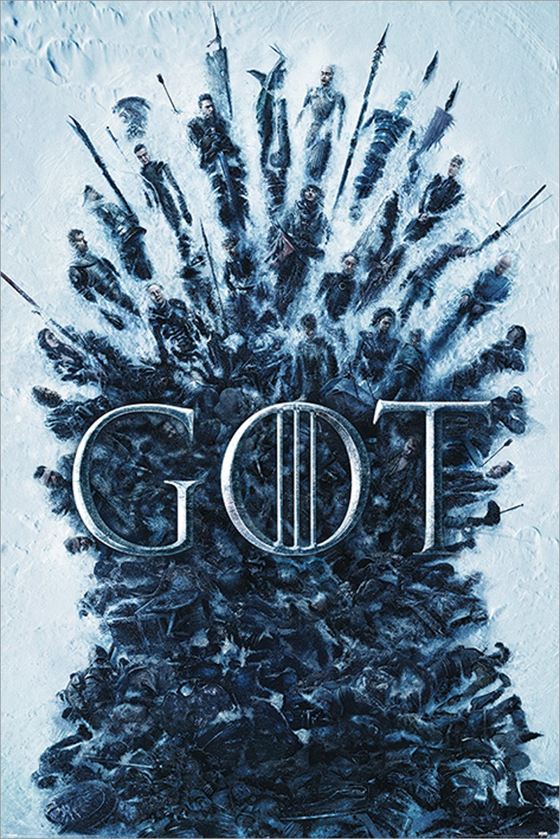 Throne Of The Dead Game Of Thrones Poster Buy Online